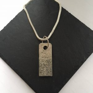 Tag Style Pendant