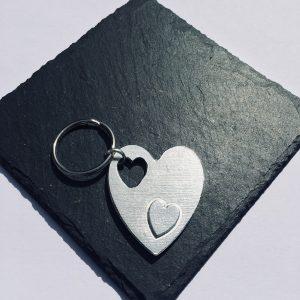 Fallen Heart Key ring