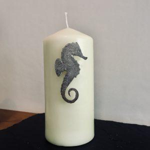 Seahorse Candle Pin Decor