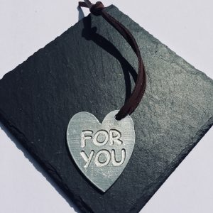 For You Heart Gift Tag