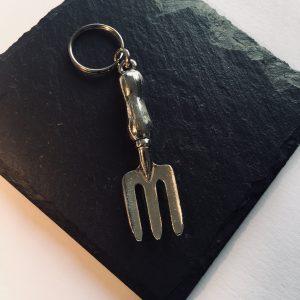 Garden Fork Key ring