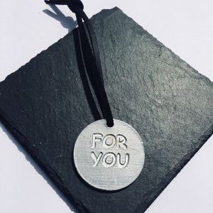 For You Round Gift Tag