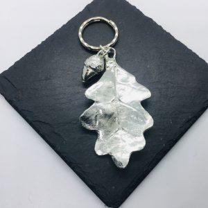 Oak Leaf and Acorn Key ring
