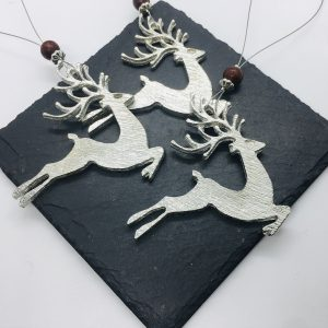 Reindeer Christmas  Decoration – set of 3