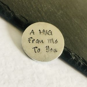 A Hug from Me to You – Personalised Keepsake Token